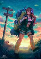 Backpacker by LimetownStudios
