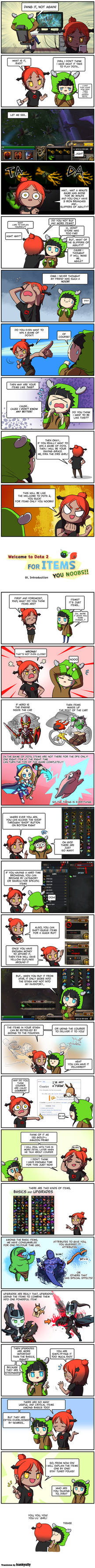 Welcome to Dota 2 for ITEMS, you NOOB! - 01 by Ulsae on