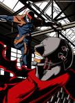 Metal Gear Wonderland: Red Man vs Cyborg Ninja
