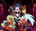 Hell Queen Stocking by MichaelJLarson