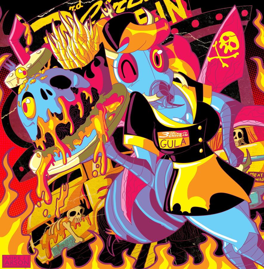 Beelzeburger by MichaelJLarson