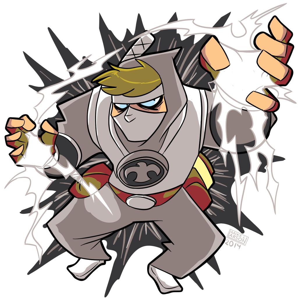 SilverKazeNinja character commission by MichaelJLarson