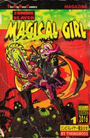 ThgBigBoss Commission: ZombieSlayer MagicalGirl by MichaelJLarson