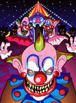 Drawlloween 2016, Oct 2nd - Carnival Creeps