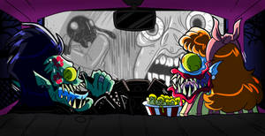 Drawlloween 2016 Oct15th Drive-In Creature Feature