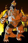 Drawloween 2016 October 24 Mechanical Monstrosity