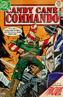 Cobaltkatdrone Commission: Candy Cane Commando by MichaelJLarson
