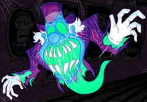 Shadowstein Commission: Grim Grinning Ghost by MichaelJLarson