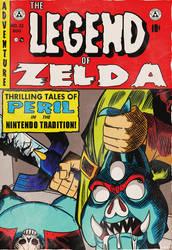 The Legend of Zelda Comic Cover by MichaelJLarson