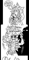 Dumb Overwatch Comic by MichaelJLarson