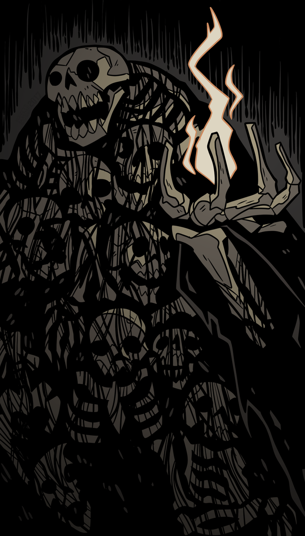 Gravelord Nito by MichaelJLarson