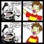 A Controversial Comic