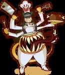 DaemonKing Commission - Demon Chef Vinny