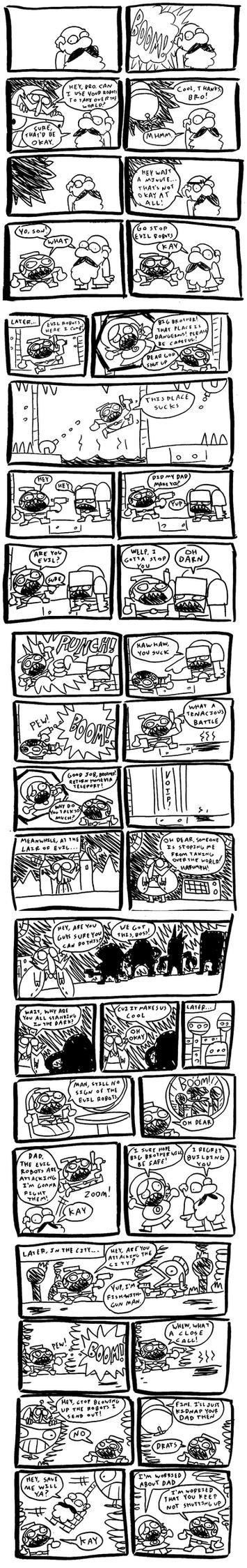 Astro Bastard Pages 1 - 5 by MichaelJLarson