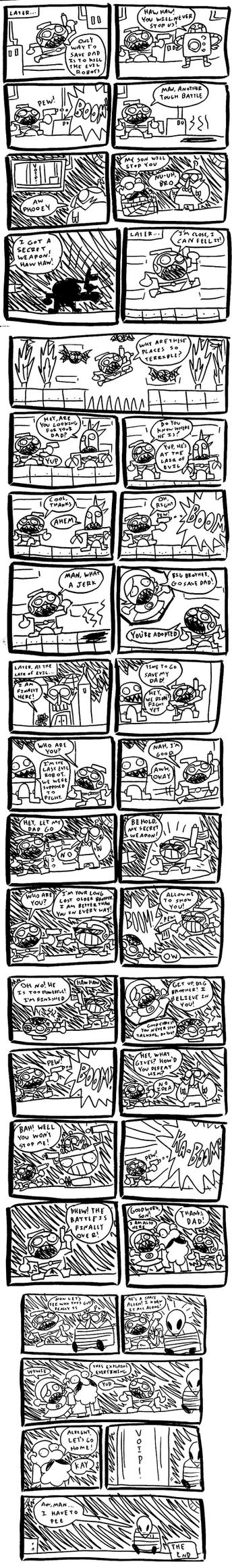 Astro Bastard Pages 6 - 10 by MichaelJLarson