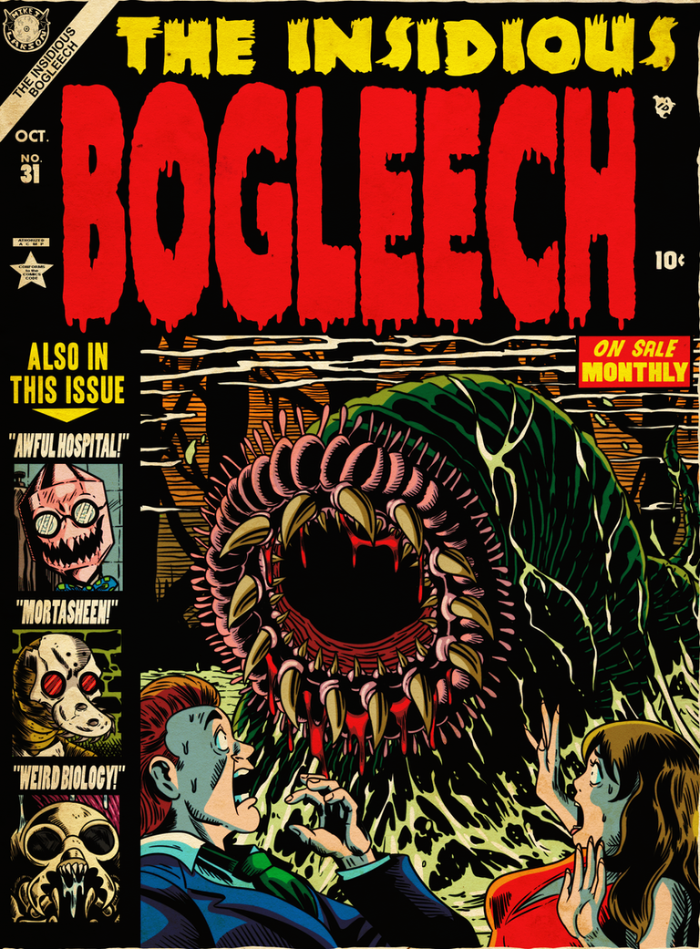 THE INSIDIOUS BOGLEECH by MichaelJLarson