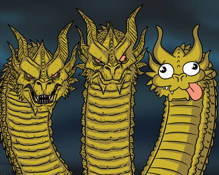 King Ghidorah in a Nutshell