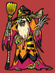 The Halloween Wizard - Drawlloween 2019