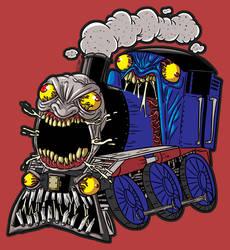 Scream Train - Drawlloween 2019