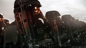 Killzone 'Helghast soldiers'