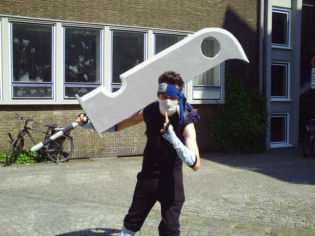 How big is your sword? - The 'Scape Lounge - Sal's ... Zabuza Sword Cosplay