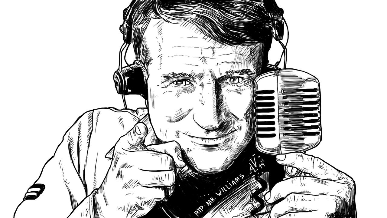 Robin Williams by veilski