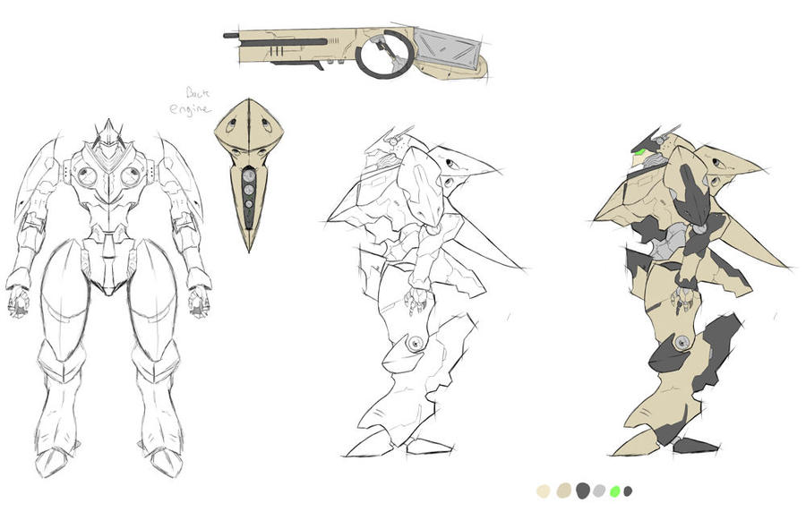 Mech Concept by thetoothless1