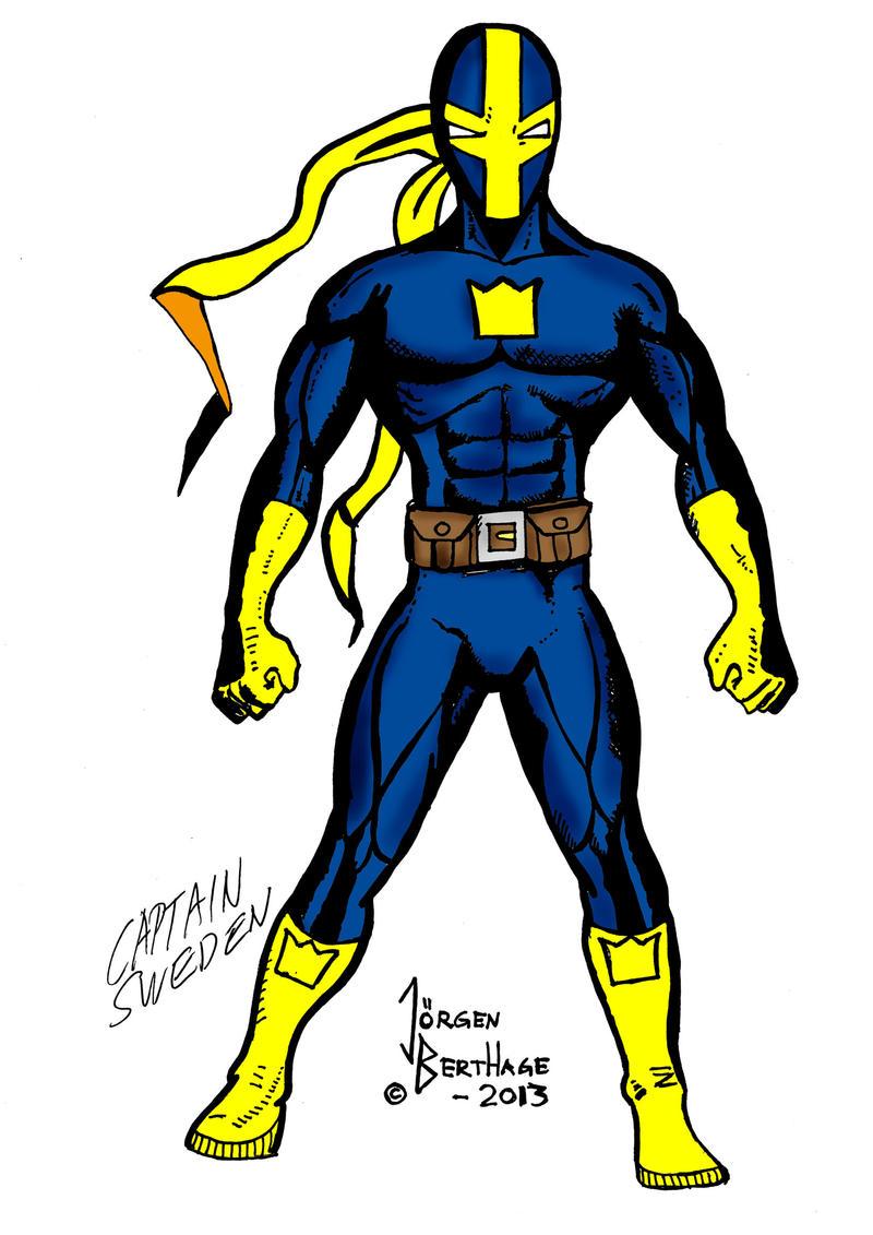 captain sweden