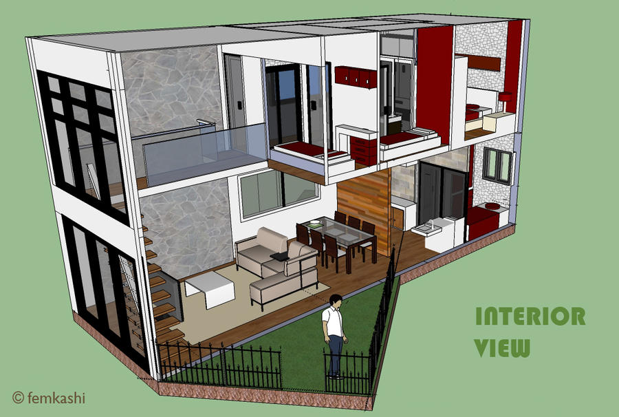 Interior House Module by femkashi ...
