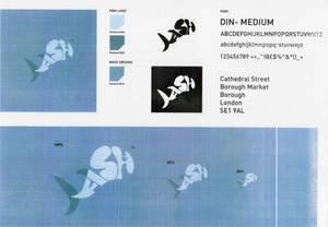 fish logo breakdown