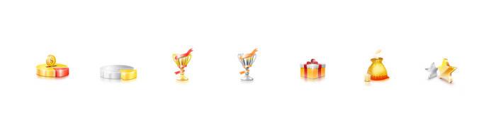 Forex Bonus Icons by sklp