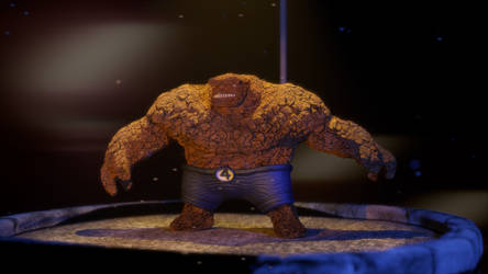 Final Render The Thing Comp by S-Babb