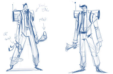 Character Roughs A by S-Babb