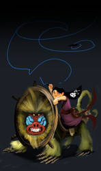 Monkey Girl Concept Paint Update by S-Babb
