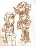 Ryuko: Normal and Transformed