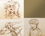 Eva doodles