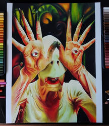 The Pale Man by SaraDraw