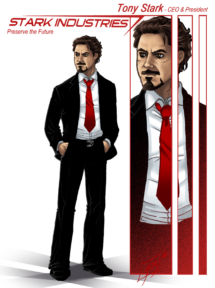 SI's boss - Iron Man - by djinn-world