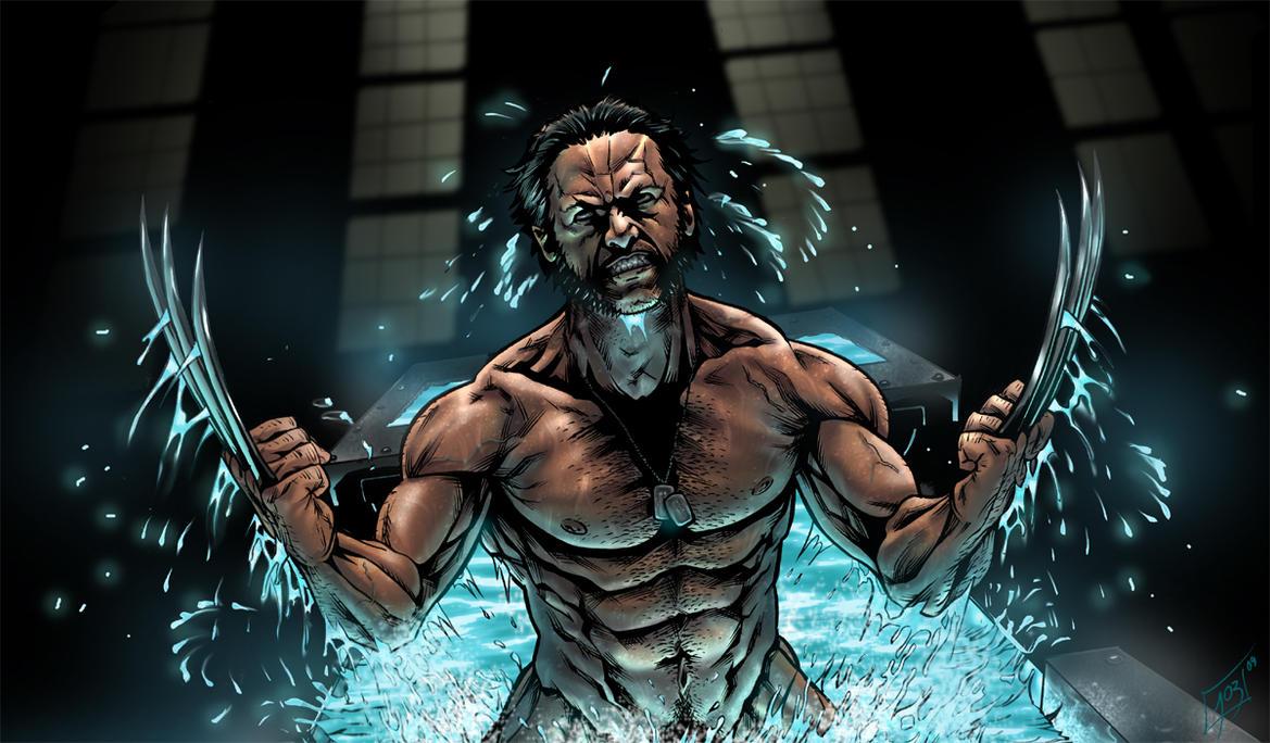 Wolverine origin movie by djinn world on deviantart - Wolverine cgi ...