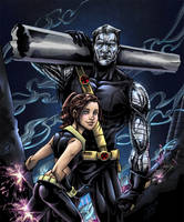 Colossus and Shadowcat by djinn-world
