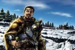 Yvain - le chevalier au lion by djinn-world