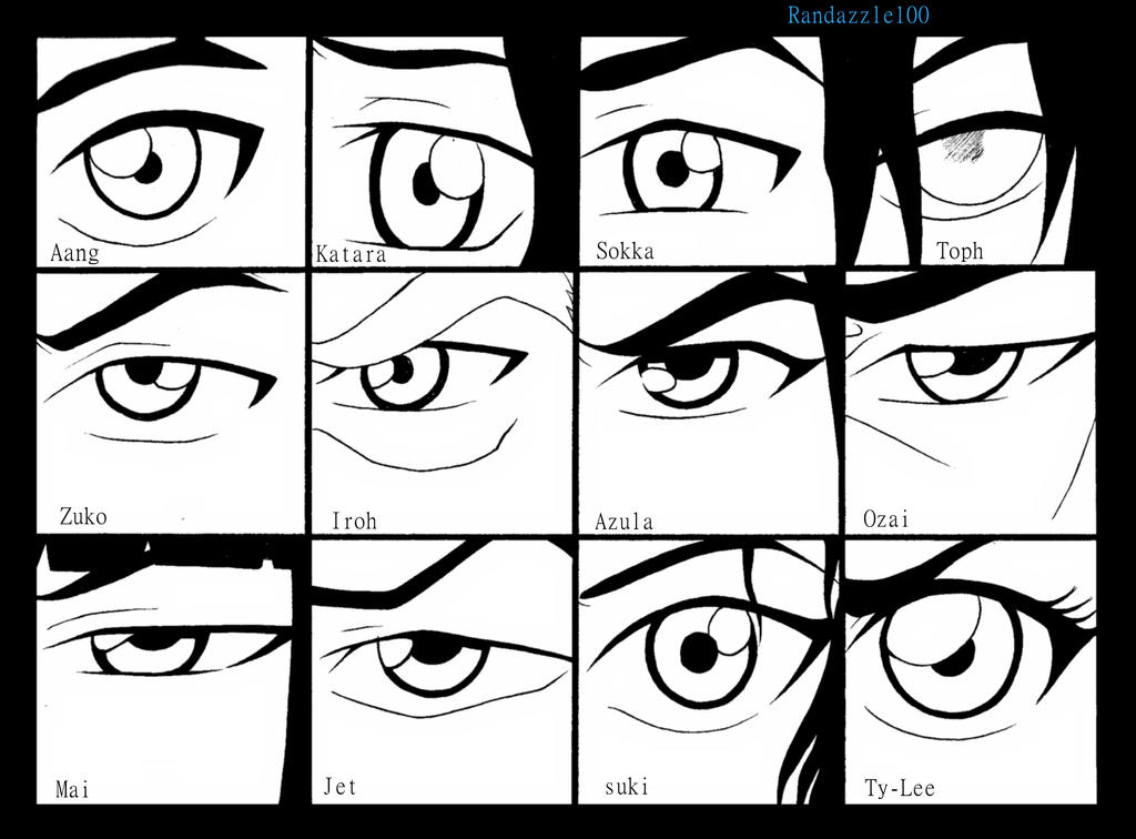 Avatar eyes by randazzle100