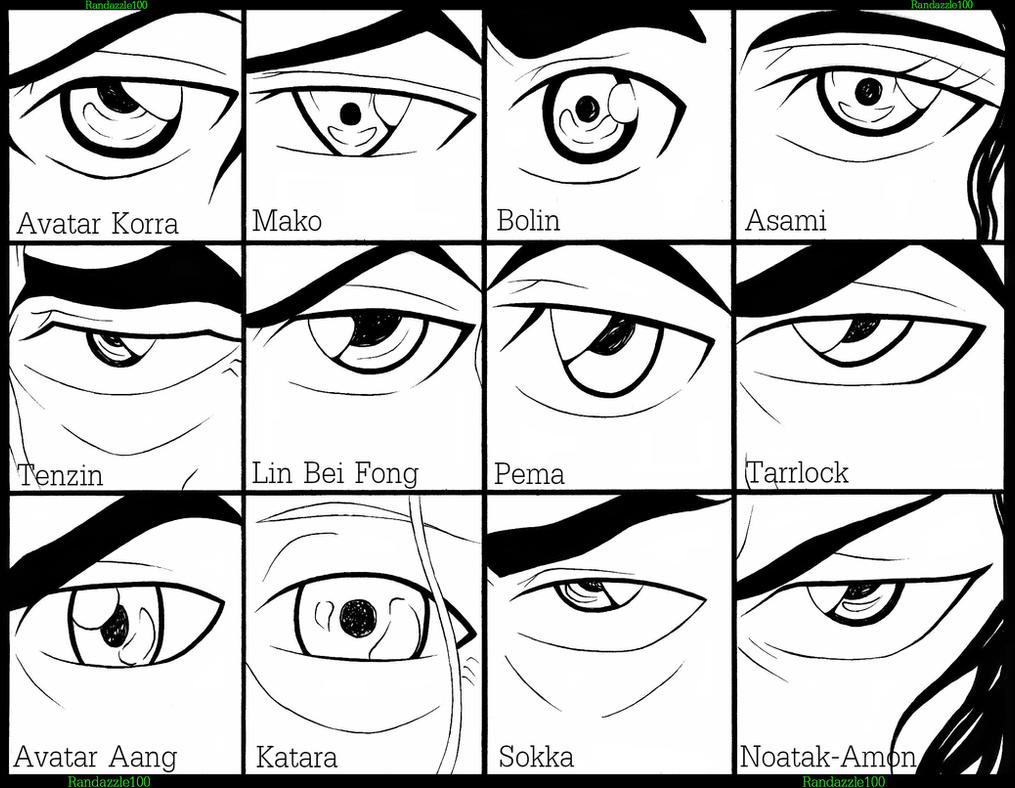 Avatar The Legend Of Korra Eyes by Randazzle100