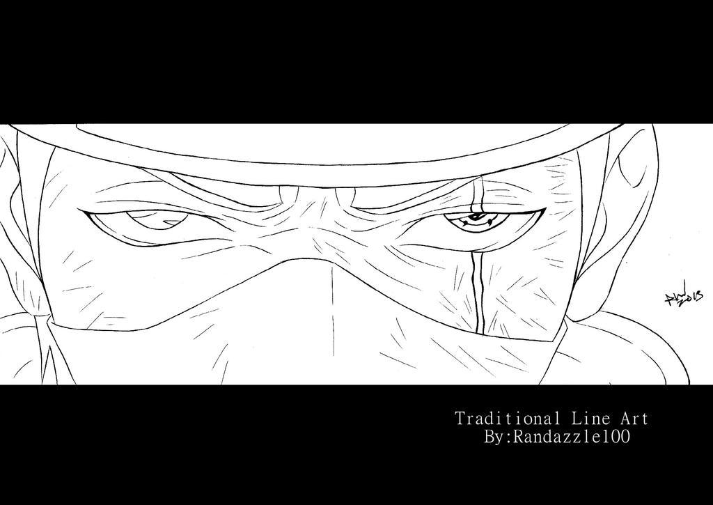 The Truth Lies With In My Eye-Kakashi by Randazzle100