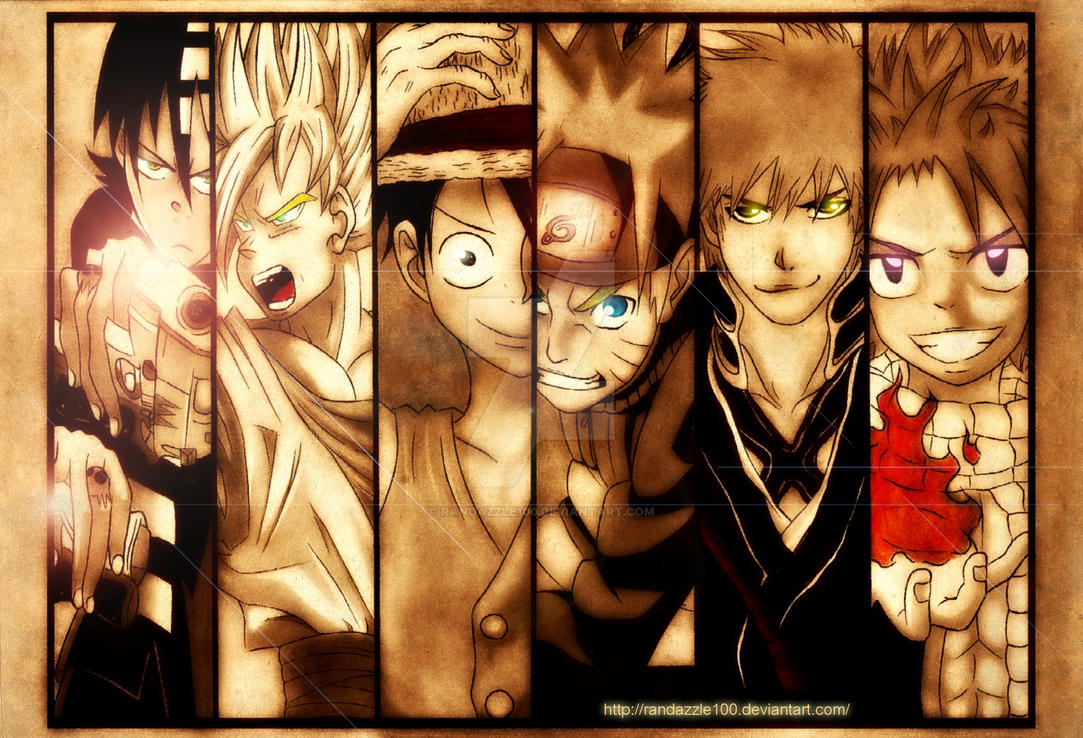 Bad ass anime males by randazzle100 on deviantart - Badass anime pics ...