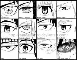 Attack On Titan Eyes by Randazzle100