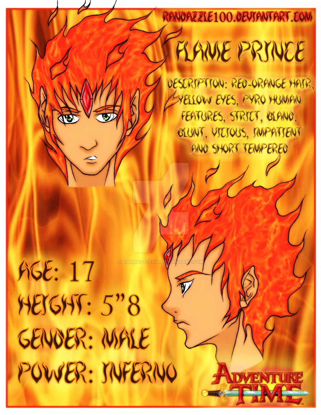 Adventure Time Flame Prince Comic Flame Prince-Adventure