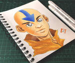 Avatar Aang by Randazzle100