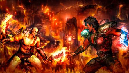 Kenshiro vs Kratos