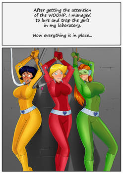 Totally Spies comic (1/3)